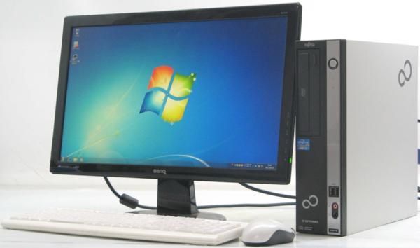 中古デスクトップパソコン 富士通 ESPRIMO D581/D■22液晶セット(富士通 Windows7 Corei3)【中古】【中古パソコン/中古PC】