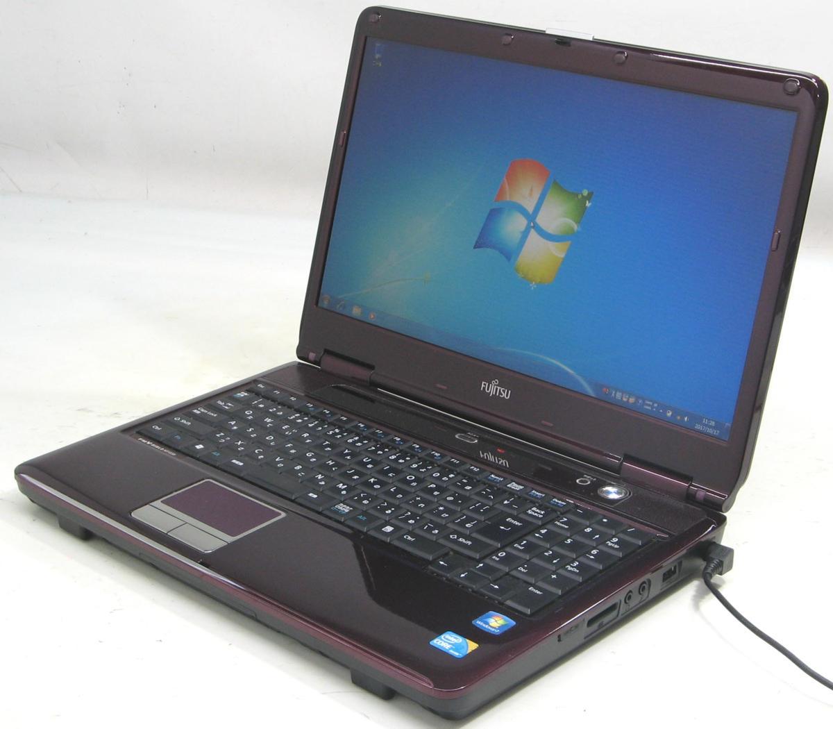 中古ノートパソコン 富士通 FMV-Biblo NF/G50 FMVNFG50C(富士通 Windows7 Corei3 HDMI出力端子)【中古】【中古パソコン/中古PC】