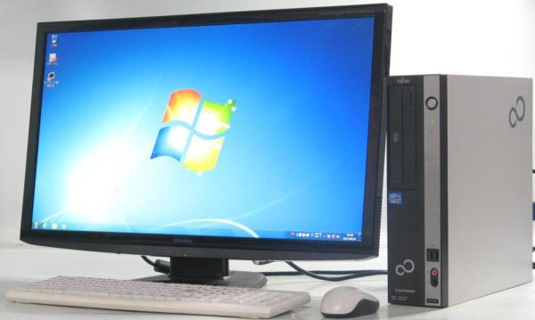 中古デスクトップパソコン 富士通 FMV-D551/D■27液晶セット(富士通 Windows7 Corei3)【中古】【中古パソコン/中古PC】