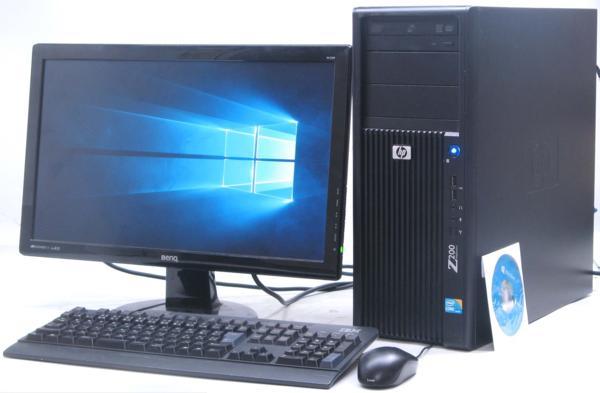中古デスクトップパソコン HP Z200 Workstation 付 グラボ Corei5 ビデオカード) 【中古】 【中古パソコン/中古PC】 (ヒューレット・パッカード Windows10(MRR)
