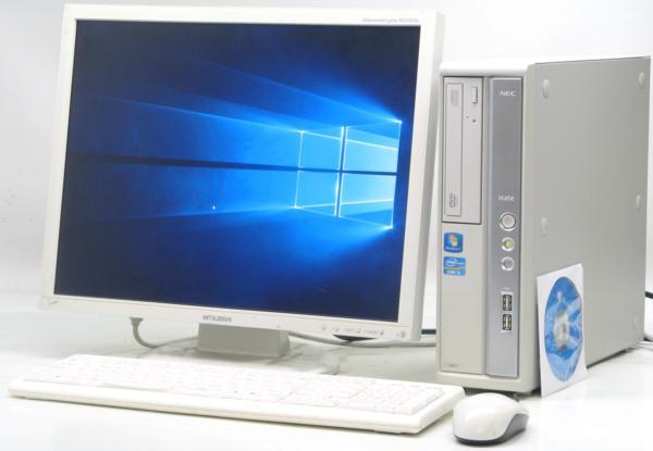 中古デスクトップパソコン NEC PC-MK31MBZCD■20液晶セット(NEC Windows10(MRR)付 Corei5)【中古】【中古パソコン/中古PC】