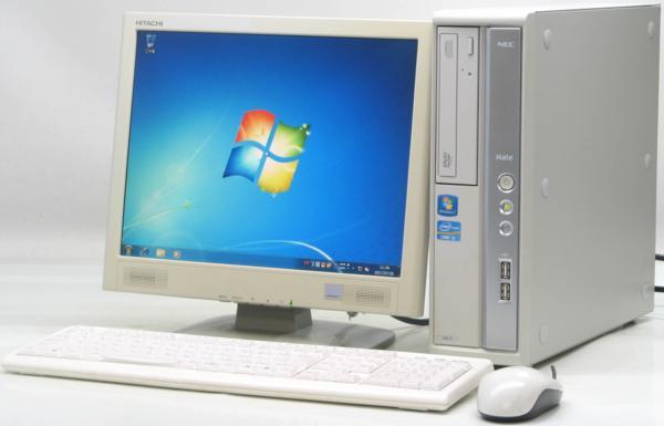 中古デスクトップパソコン NEC PC-MK31MBZCD■15液晶セット(NEC Windows7 Corei5)【中古】【中古パソコン/中古PC】
