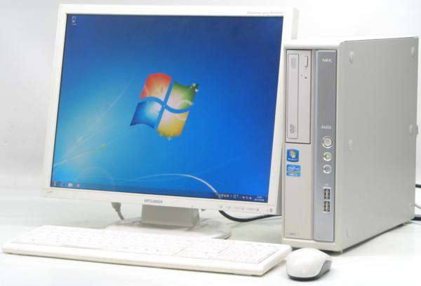 中古デスクトップパソコン NEC PC-MK31MBZCD■20液晶セット(NEC Windows7 Corei5)【中古】【中古パソコン/中古PC】