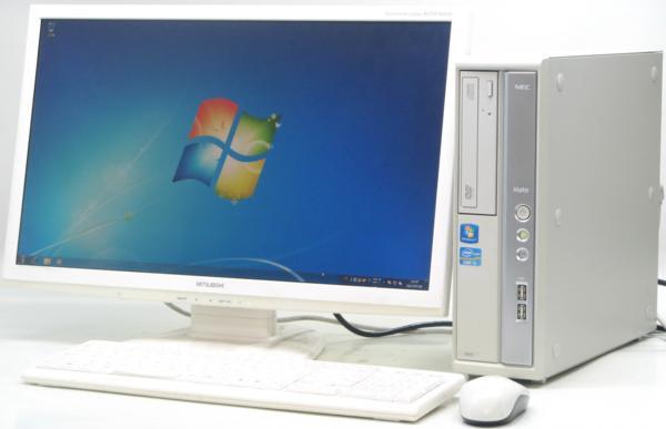 中古デスクトップパソコン NEC PC-MK31MBZCD■23液晶セット(NEC Windows7 Corei5)【中古】【中古パソコン/中古PC】