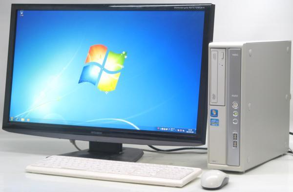 中古デスクトップパソコン NEC PC-MK31MBZCD■27液晶セット(NEC Windows7 Corei5)【中古】【中古パソコン/中古PC】