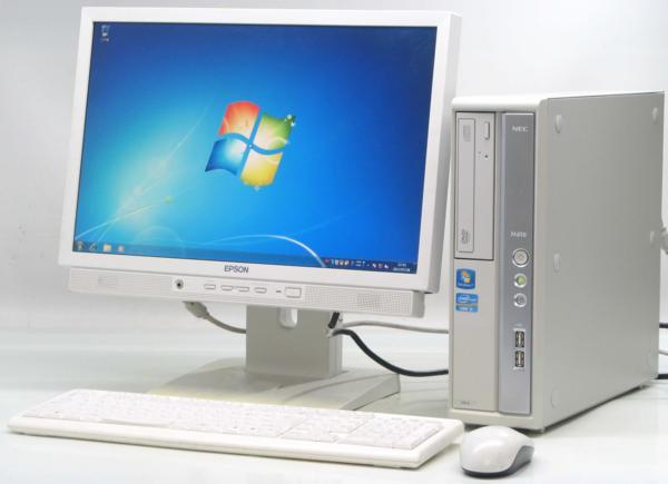 中古デスクトップパソコン NEC PC-MK31MBZCD■19W液晶セット(NEC Windows7 Corei5)【中古】【中古パソコン/中古PC】