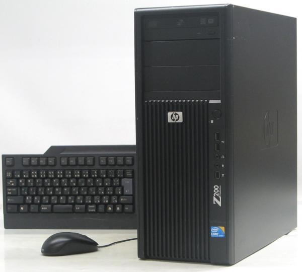 中古デスクトップパソコン HP Z200 Workstation(ヒューレット・パッカード Windows7 Corei3 グラボ ビデオカード)【中古】【中古パソコン/中古PC】
