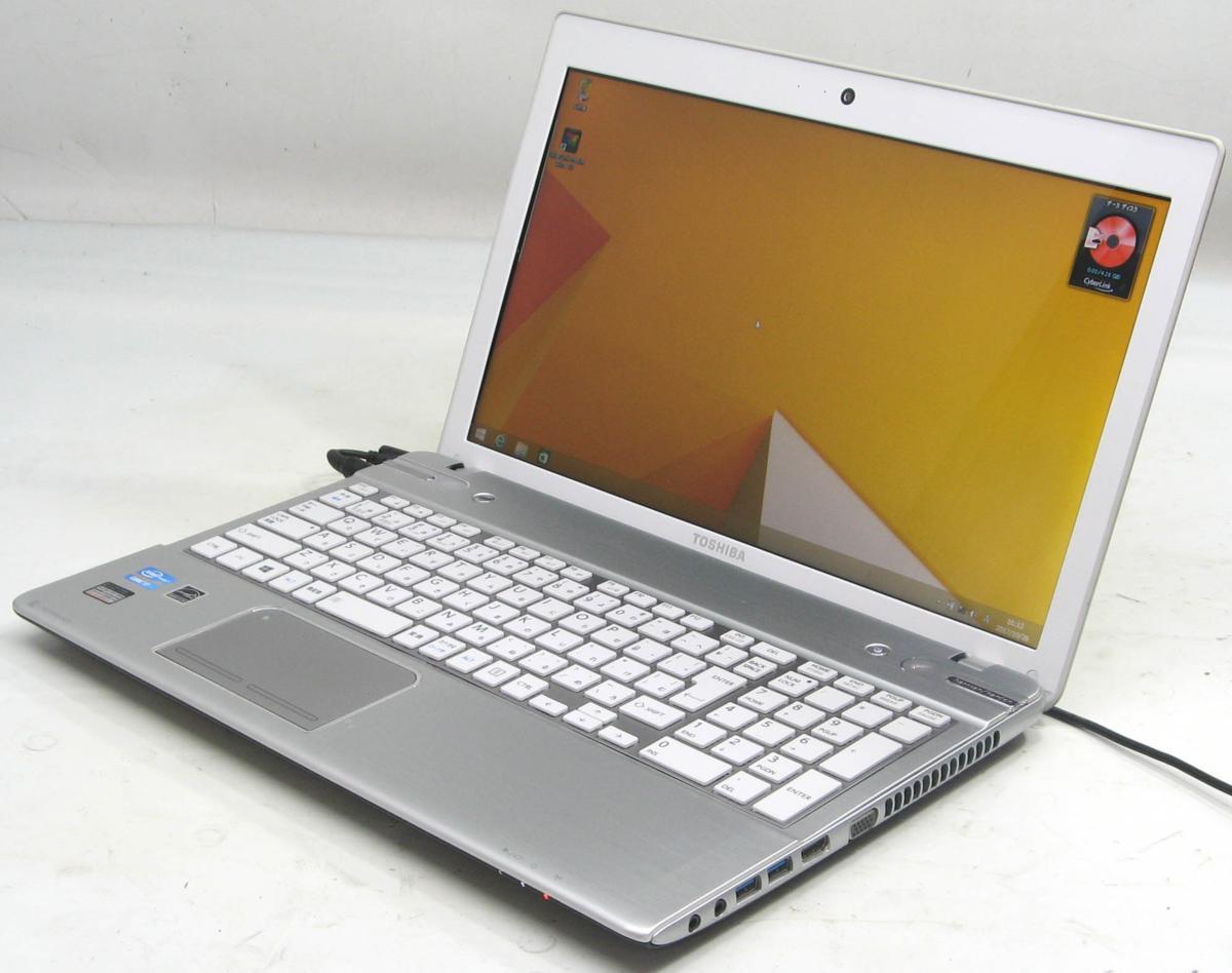 中古ノートパソコン 東芝 dynabook T652/58GWS(東芝 Windows8 Corei7 ブルーレイディスクドライブ)【中古】【中古パソコン/中古PC】
