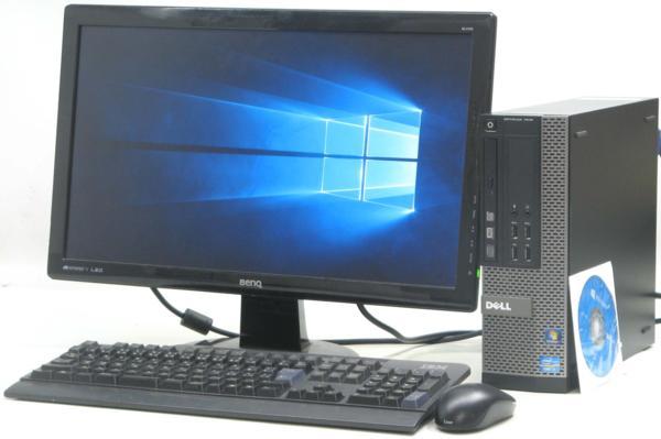 DELL Optiplex 7010-3400SF■22液晶セット(デル Windows10(MRR)付 Corei7 DVDスーパーマルチドライブ)【中古】【中古パソコン/中古PC】