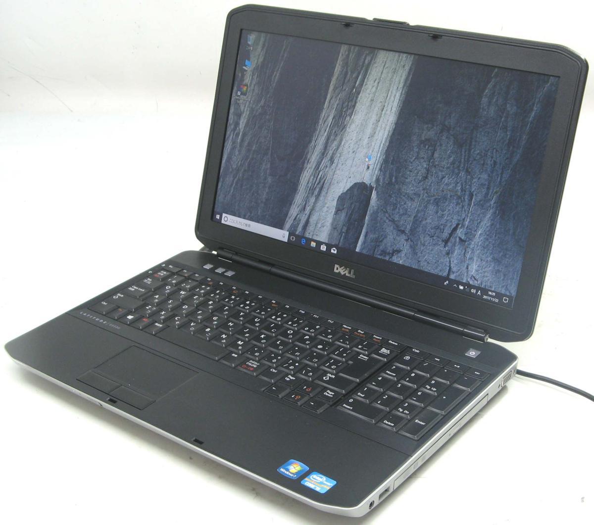 中古ノートパソコン DELL Latitude E5530-2700HD(デル Windows10 Corei5 DVDスーパーマルチドライブ HDMI出力端子)【中古】【中古パソコン/中古PC】