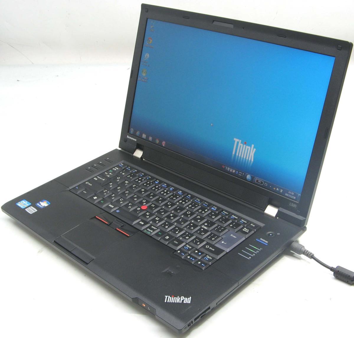 Lenovo ThinkPad L520 5015-A73(レノボ IBM Windows7 Corei5 グラボ ビデオカード DVDスーパーマルチドライブ)【中古】【中古パソコン/中古PC】