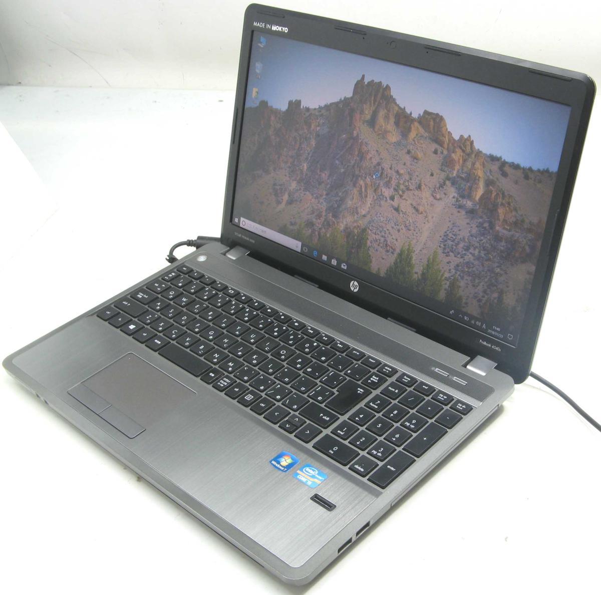 中古ノートパソコン HP ProBook 4540S(ヒューレット・パッカード Windows10 Corei5 グラボ ビデオカード DVDスーパーマルチドライブ HDMI出力端子)【中古】【中古パソコン/中古PC】