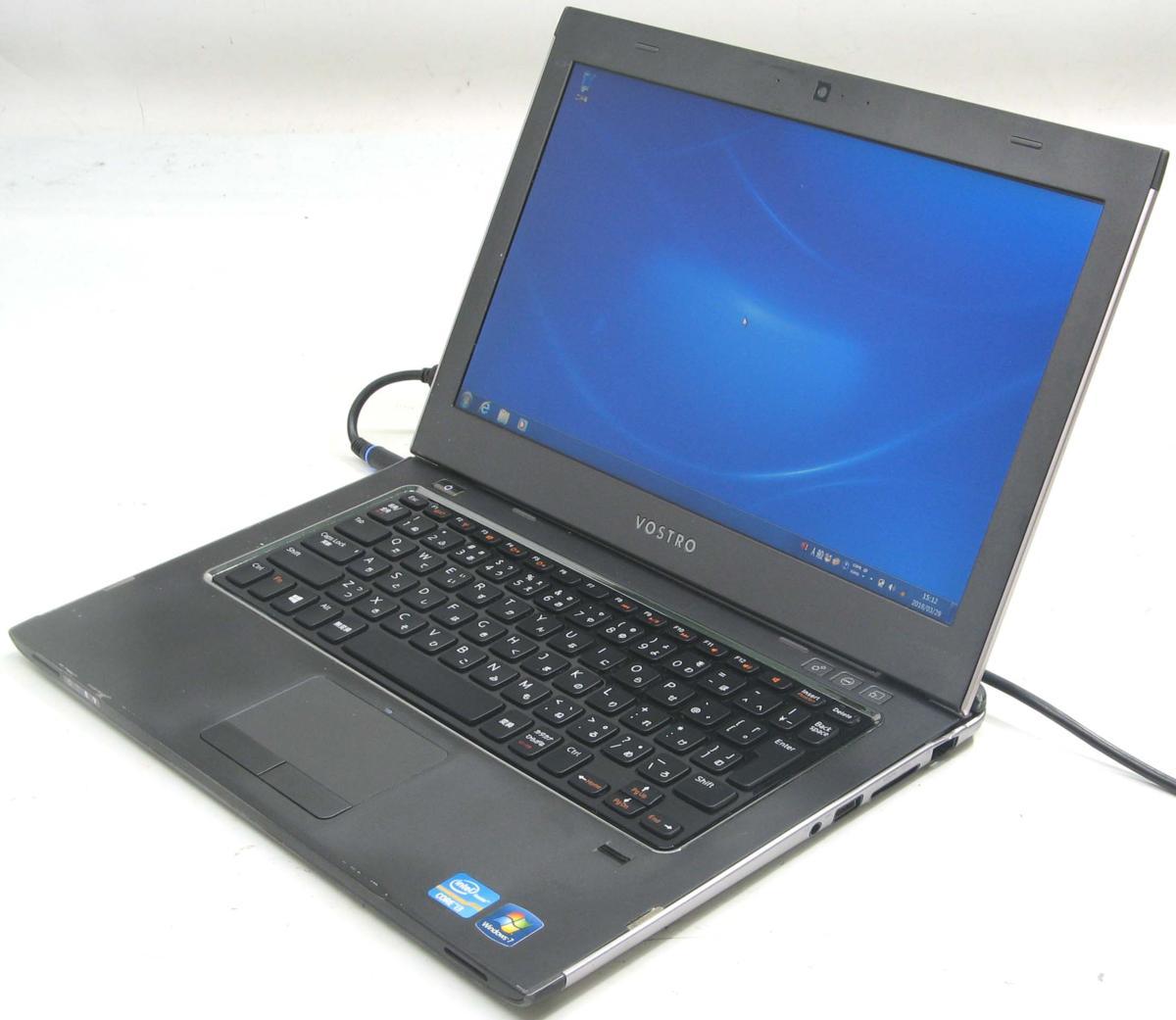 中古ノートパソコン DELL Vostro 3360-1900HD(デル Windows7 Corei3 HDMI出力端子)【中古】【中古パソコン/中古PC】