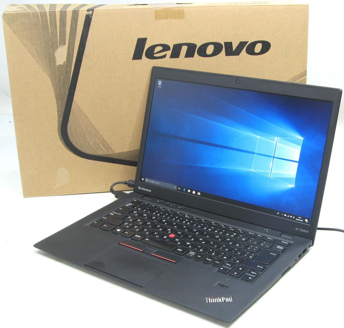 中古ノートパソコン Lenovo 【SSD搭載】 ThinkPad X1 3448H5 Corei5【中古パソコン】【中古】