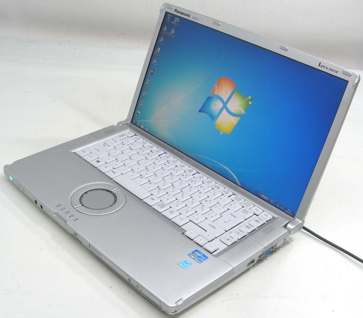 中古ノートパソコン Panasonic Let'sNote CF-B11LWCTS(パナソニック レッツノート Windows7 Corei5 HDMI出力端子 DVDスーパーマルチドライブ)【中古】【中古パソコン/中古PC】