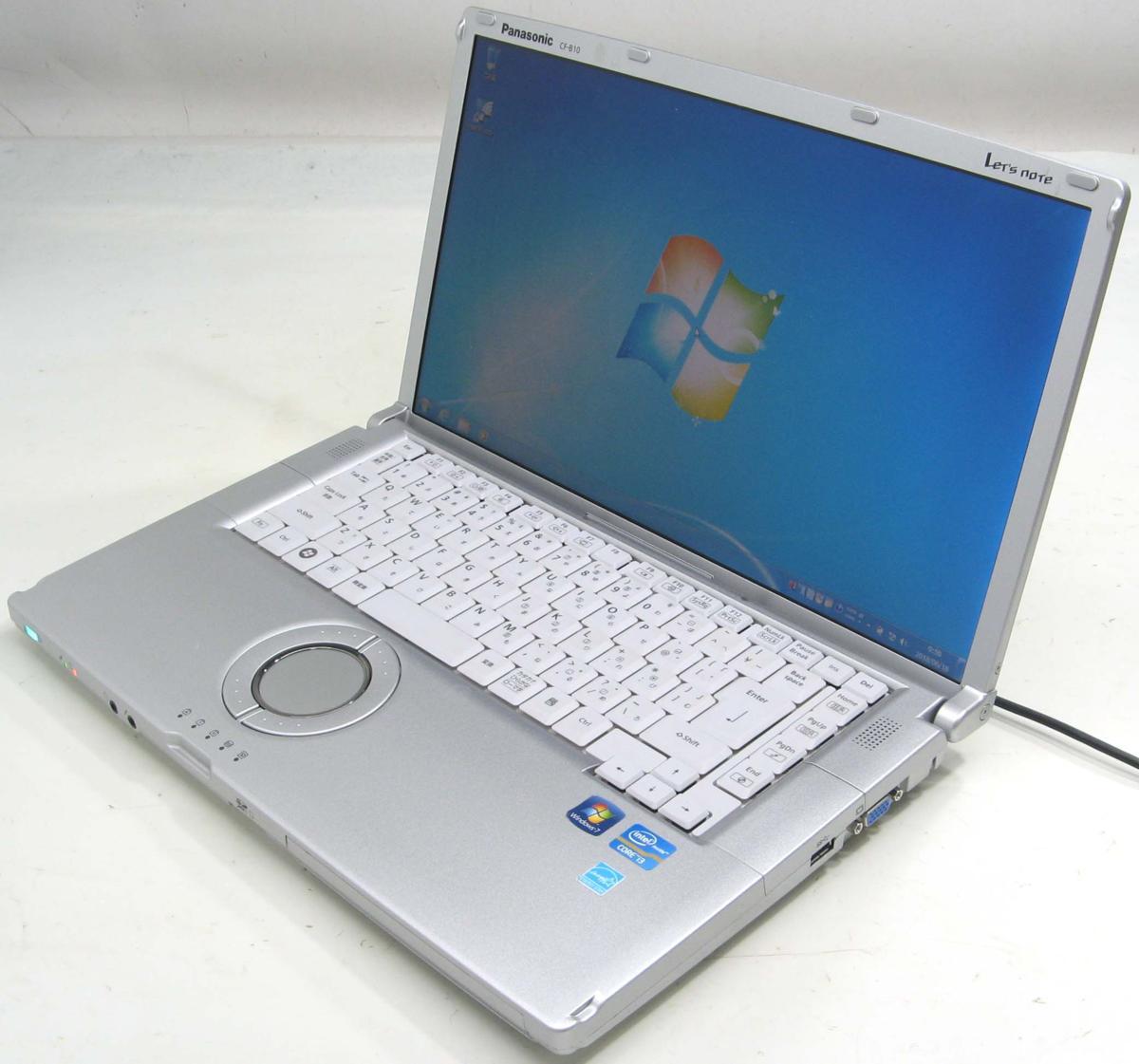 中古ノートパソコン Panasonic Let'sNOTE CF-B10TWYYS(パナソニック レッツノート Windows7 Corei3 HDMI出力端子)【中古】【中古パソコン/中古PC】
