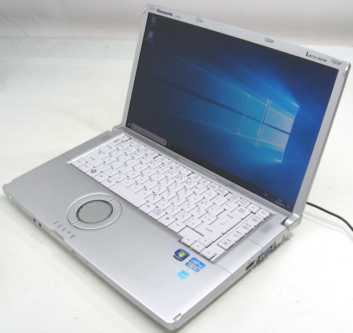 中古ノートパソコン Panasonic Let'sNOTE CF-B10TWYYS(パナソニック レッツノート Windows10 Corei3 HDMI出力端子)【中古】【中古パソコン/中古PC】