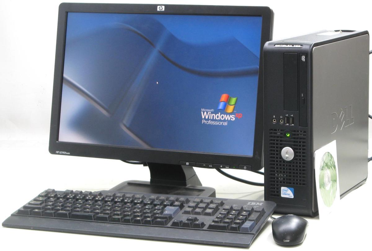 中古デスクトップパソコン DELL Optiplex 780-C2200SF■19W液晶セット(デル WindowsXP)【中古】【中古パソコン/中古PC】