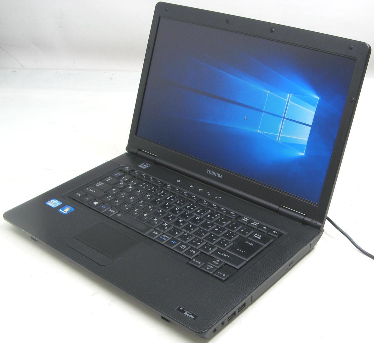 中古ノートパソコン 東芝 Satellite B552/F PB552FBA1R7A51(東芝 Windows10 Corei5 DVDスーパーマルチドライブ)【中古】【中古パソコン/中古PC】