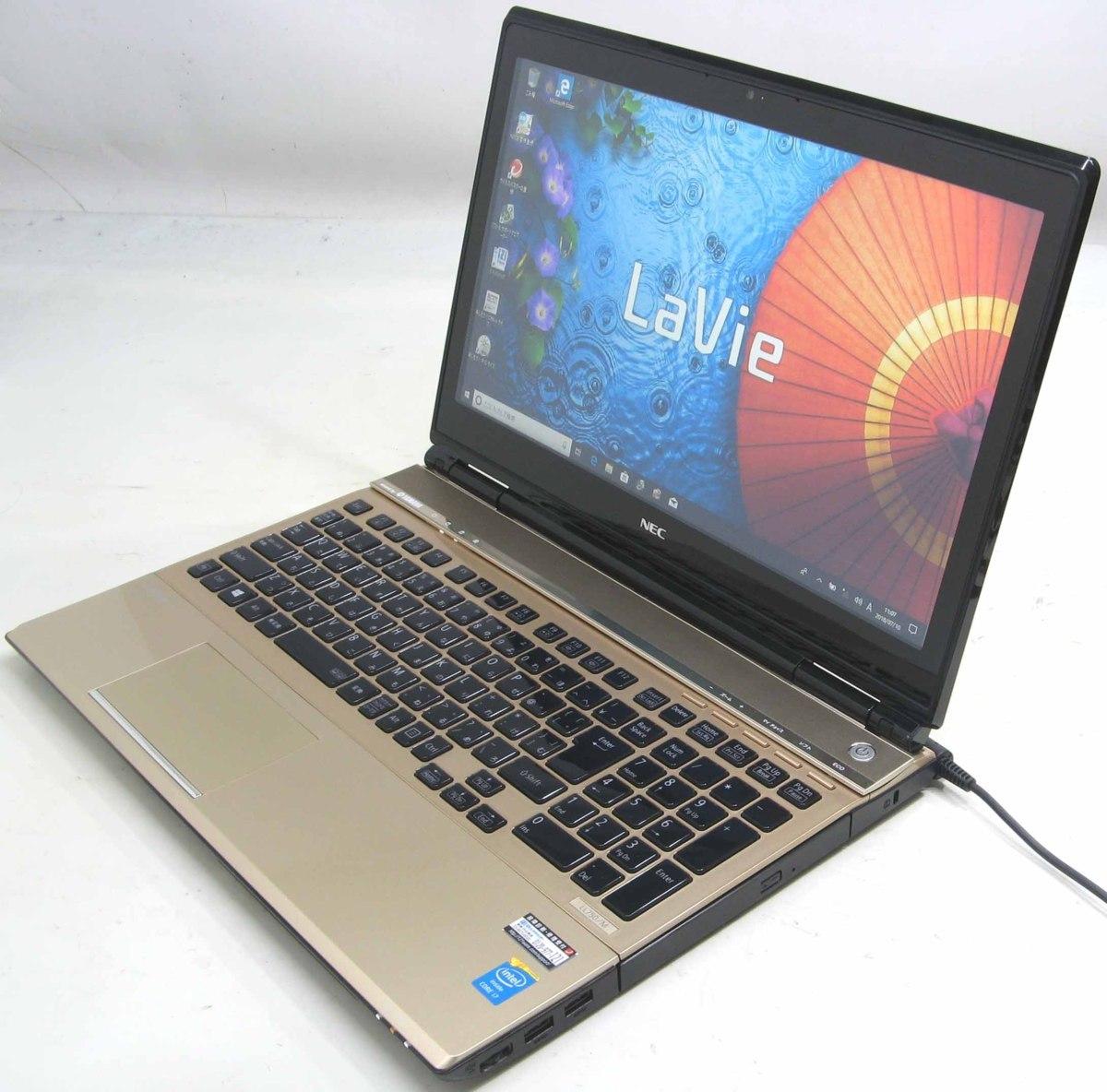 中古ノートパソコン NEC LaVie PC-LL750MSG(NEC Windows10 Corei7 HDMI出力端子 ブルーレイディスクドライブ)【中古】【中古パソコン/中古PC】