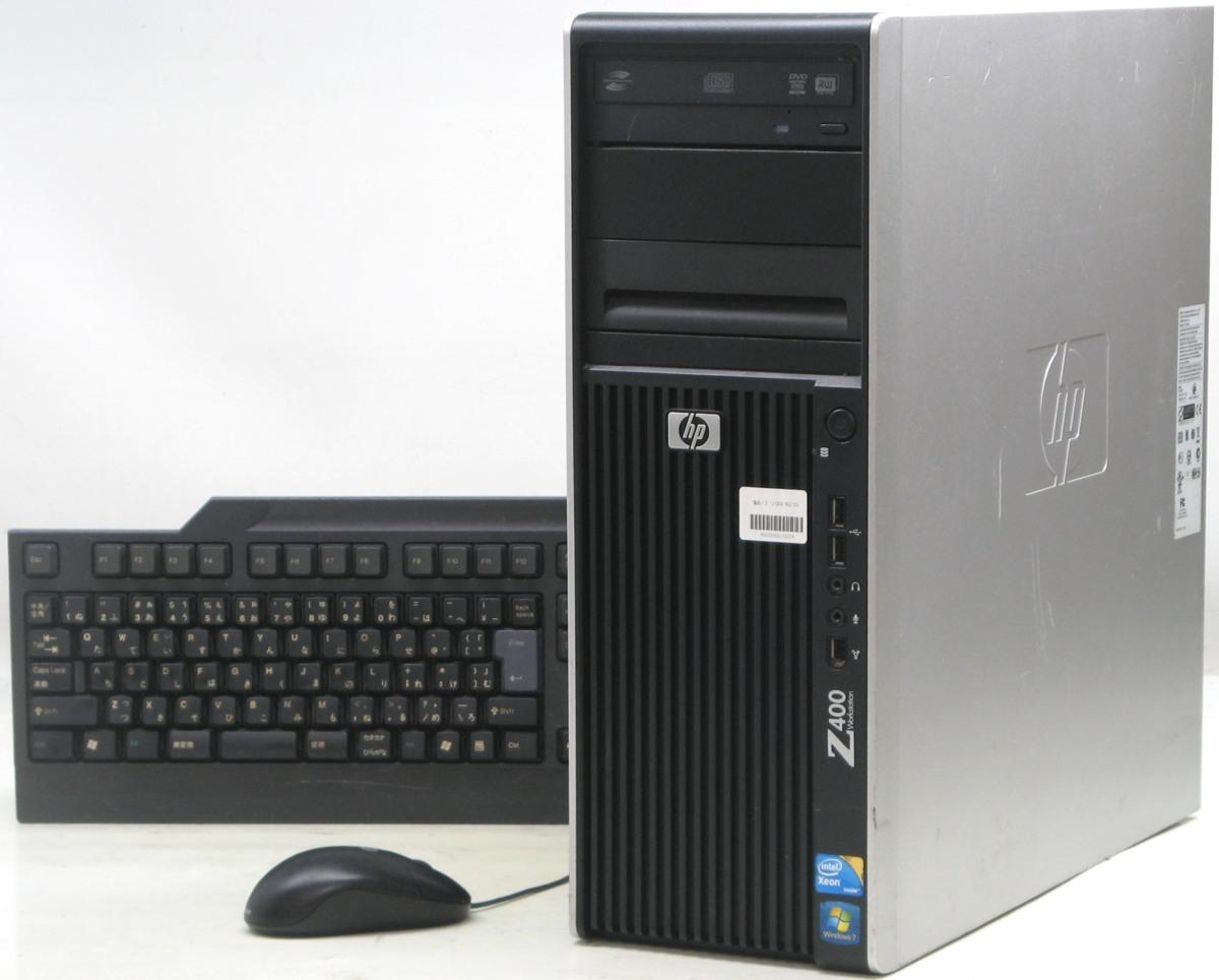 HP Z400-W3580MT Workstation(ヒューレット・パッカード Windows10 グラボ ビデオカード DVDスーパーマルチドライブ)【中古】【中古パソコン/中古PC】