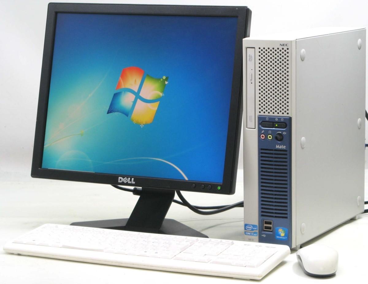 中古デスクトップパソコン NEC PC-MK28HEZCD■17液晶セット(NEC Windows7 Corei7)【中古】【中古パソコン/中古PC】