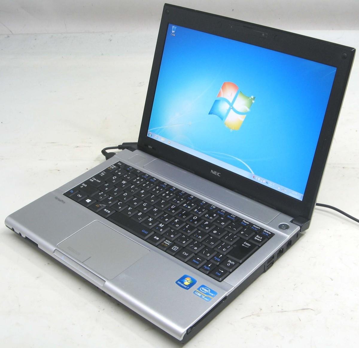 中古ノートパソコン NEC VersaPro PC-VK26MBZCF(NEC Windows7 Corei5 HDMI出力端子)【中古】【中古パソコン/中古PC】
