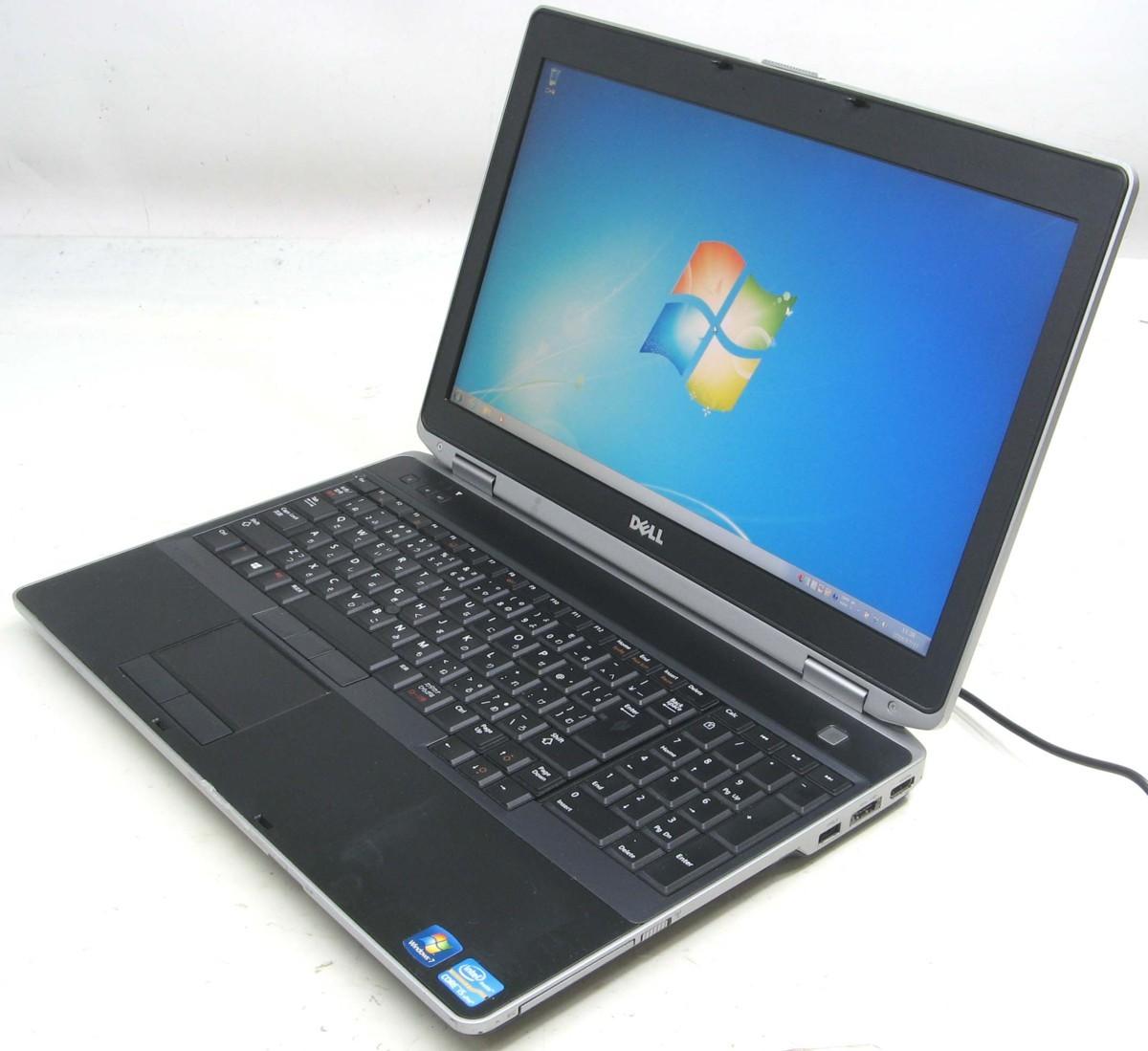 DELL Latitude E6530-2800WX++(デル Windows7 Corei5 HDMI出力端子 DVDスーパーマルチドライブ)【中古】【中古パソコン/中古PC】