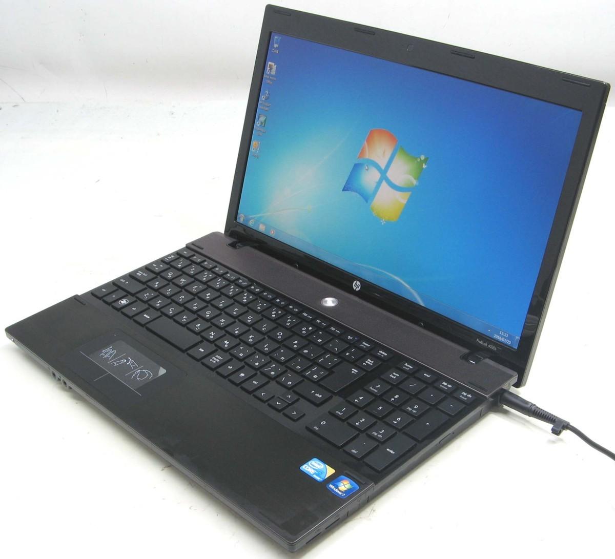 中古ノートパソコン HP ProBook 4520S(ヒューレット・パッカード Windows7 Corei5 HDMI出力端子 DVDスーパーマルチドライブ)【中古】【中古パソコン/中古PC】