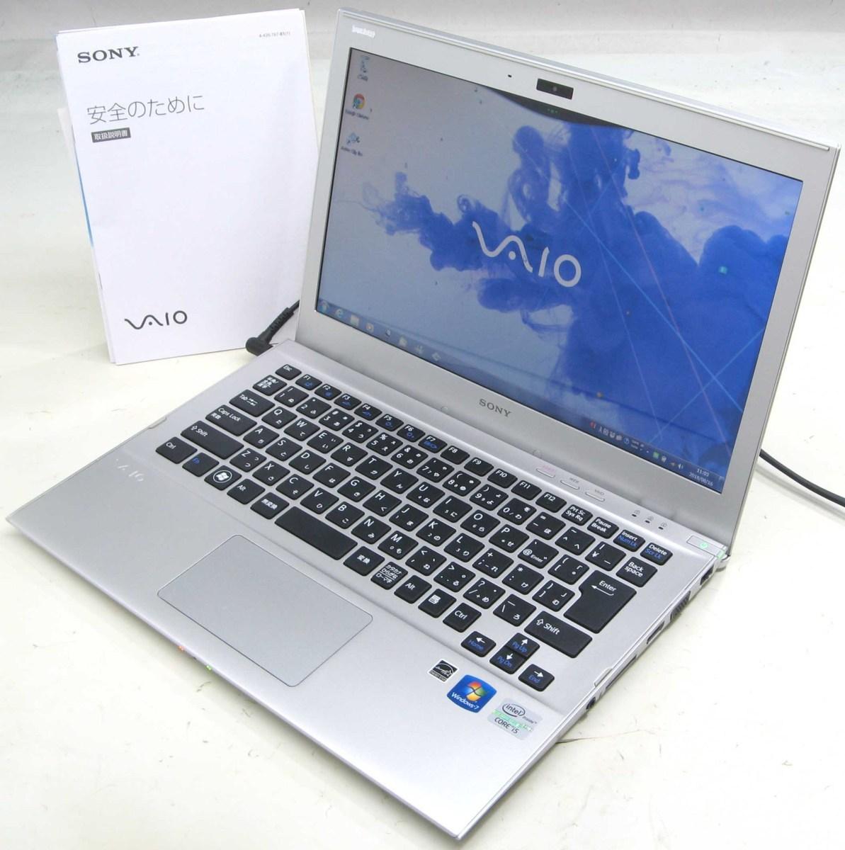 中古ノートパソコン SONY VAIO SVT1311AJ(ソニー Windows7 Corei5 HDMI出力端子)【中古】【中古パソコン/中古PC】