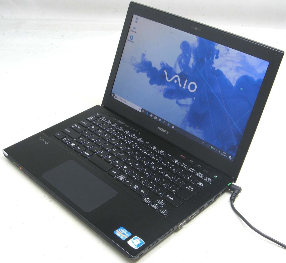 中古ノートパソコン SONY VAIO SVS1313AJD(ソニー Windows10 Corei3 HDMI出力端子 DVDスーパーマルチドライブ)【中古】【中古パソコン/中古PC】