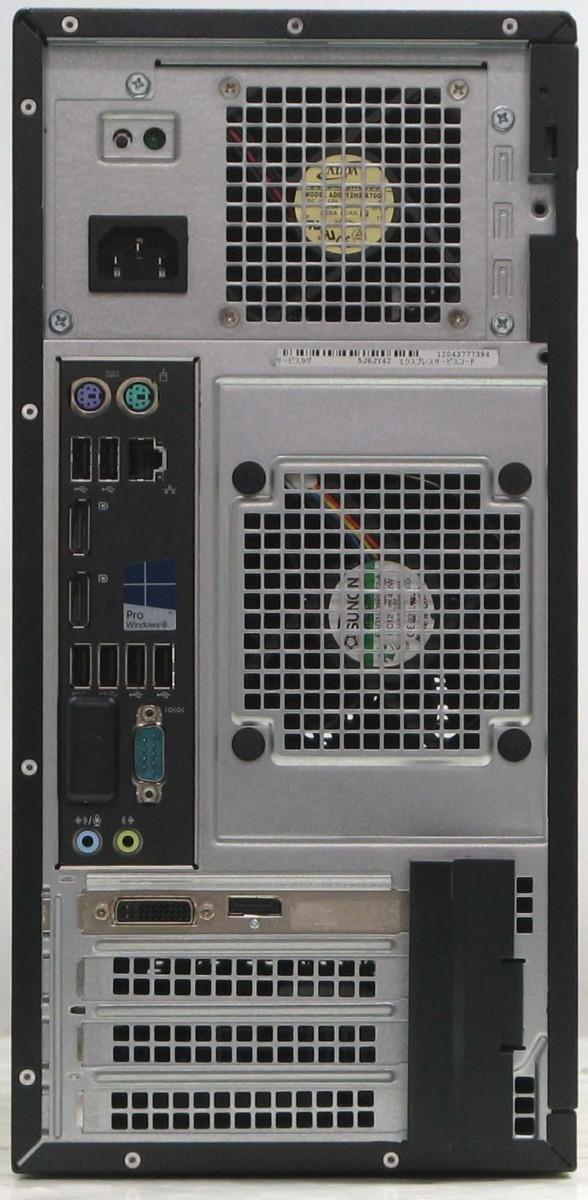Used desktop PC DELL Optiplex 9020-4790MT ■ 24 liquid crystalline set (Dell  Windows7 Corei7 graphics board video card DVD supermarket multi-drive)