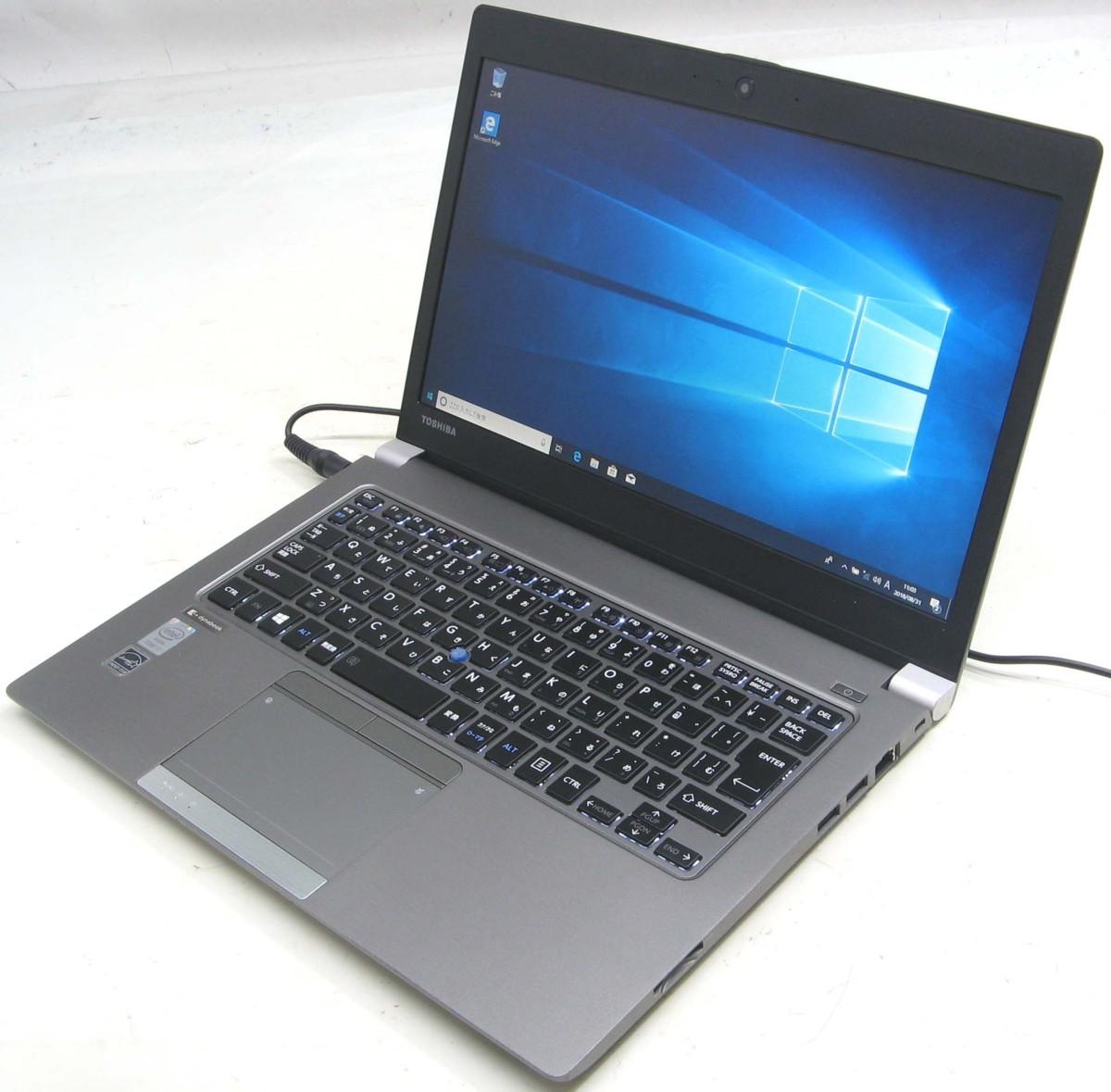 中古ノートパソコン 東芝 dynabook R634/M PR634MFWD47AD71(東芝 Windows10 Corei7 SSD搭載 HDMI出力端子)【中古】【中古パソコン/中古PC】
