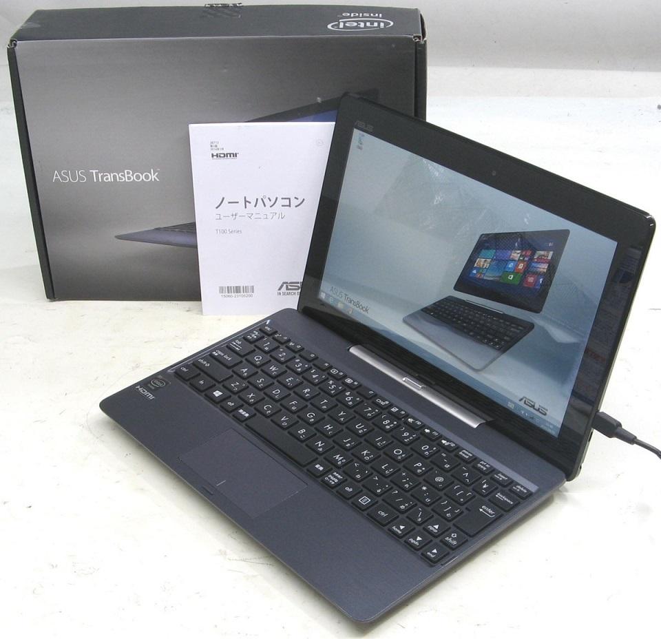 中古ノートパソコン ASUS T100TA-DK532GS(アスース エイスース Windows8 SSD搭載)【中古】【中古パソコン/中古PC】