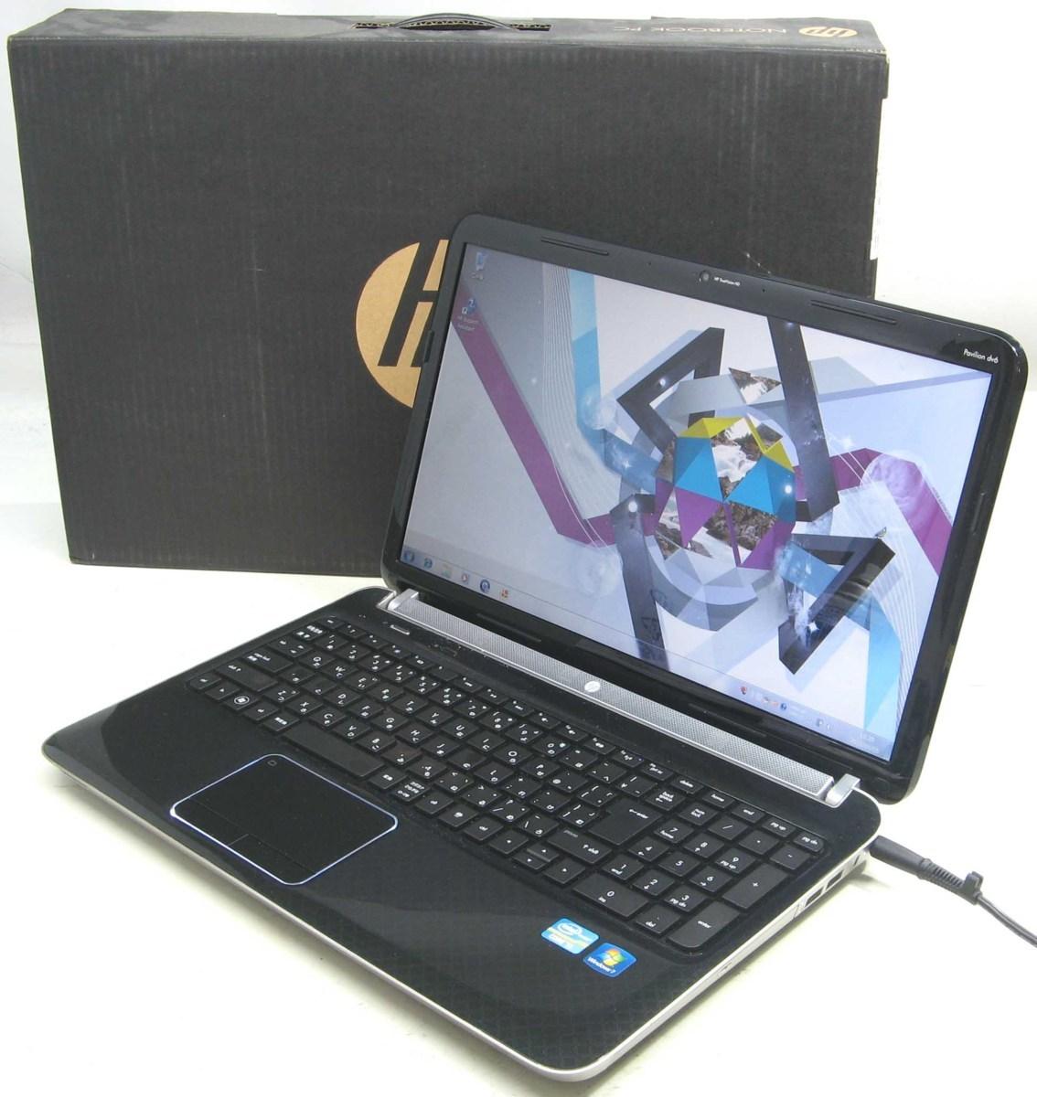 中古ノートパソコン HP Pavilion du6-6000(ヒューレット・パッカード Windows7 Corei3 HDMI出力端子 DVDスーパーマルチドライブ)【中古】【中古パソコン/中古PC】