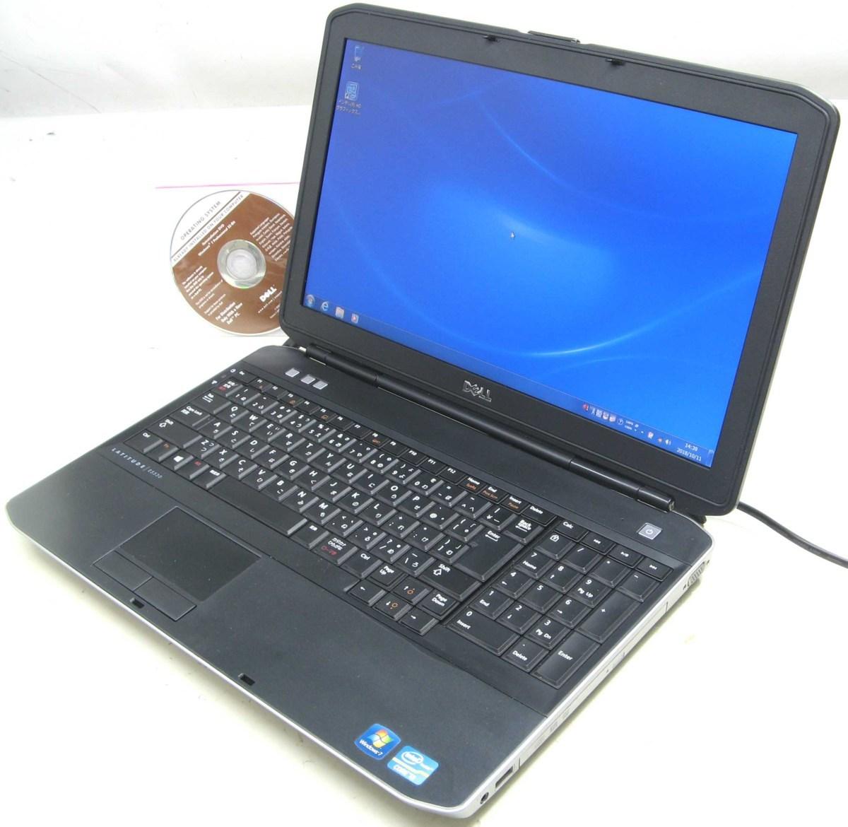 中古ノートパソコン DELL Latitude E5530-2400HD(デル Windows7 Corei3 HDMI出力端子 DVDスーパーマルチドライブ)【中古】【中古パソコン/中古PC】
