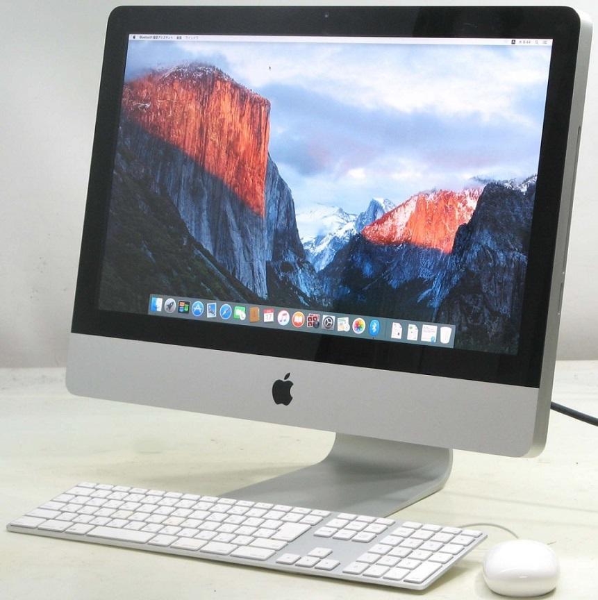 Apple iMac MC309J/A(アップル マック マッキントッシュ Corei5 HDD500GB メモリ4GB 21.5インチ Mac OS 10.11.6 グラフィックボード)【中古】中古MAC
