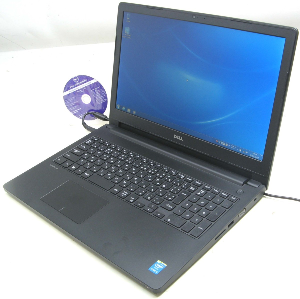 中古ノートパソコン DELL Latitude 3560-2200HD(デル Windows7 Corei5 HDMI出力端子)【中古】【中古パソコン/中古PC】