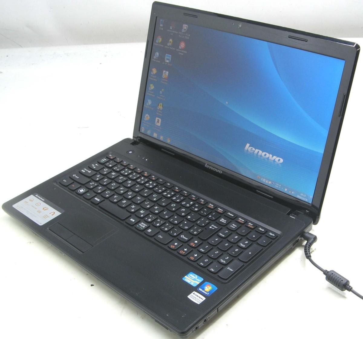 中古ノートパソコン Lenovo G570 4334(レノボ IBM Windows7 15.6インチ Corei5 DVDスーパーマルチドライブ)【中古】【中古パソコン/中古PC】