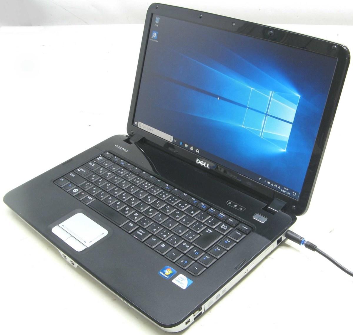 中古ノートパソコン DELL Vostro 1015-2300HD(デル Windows10 15.6インチ DVDスーパーマルチドライブ)【中古】【中古パソコン/中古PC】