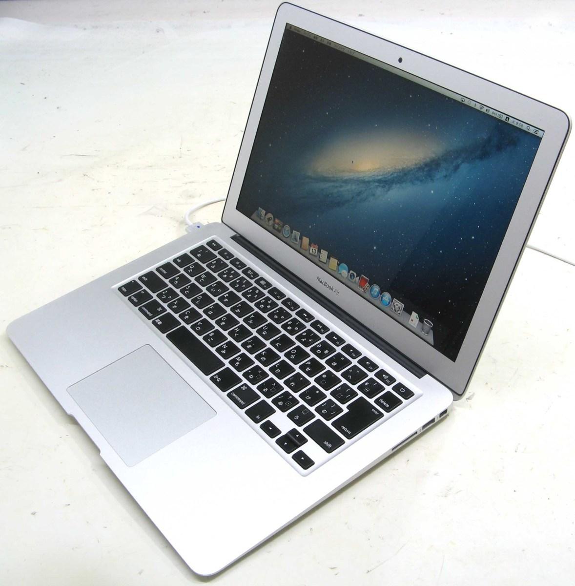 Apple MacBook Air MD761J/A(アップル マック マッキントッシュ Corei713.3インチ SSD256GB メモリ8GB Mac OS 10.8.5)【中古】中古MAC