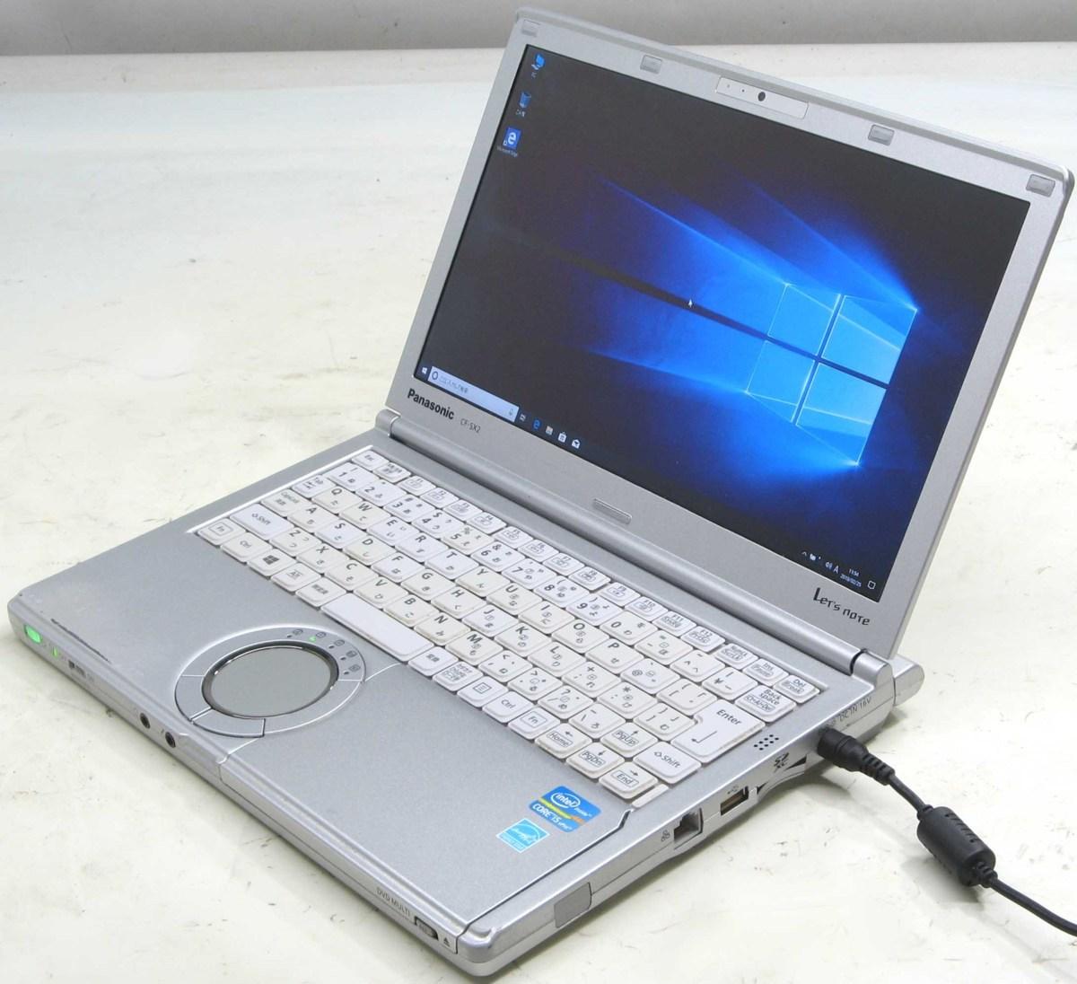 中古ノートパソコン Corei5 Panasonic Let'snote CF-SX2ADHCS(パナソニック Let'snote レッツノート Windows10 Corei5 12.1インチ HDMI出力端子 HDMI出力端子 DVDスーパーマルチドライブ)【中古】【中古パソコン/中古PC】, 徳島県:a5daf1ff --- officewill.xsrv.jp