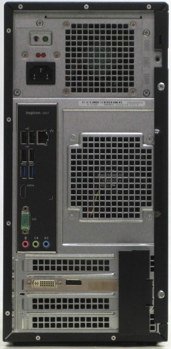 デスクトップパソコン Dell Inspiron 3847 4770MT デル Windows10 Corei7 メモリ4GBn0XOw8kP