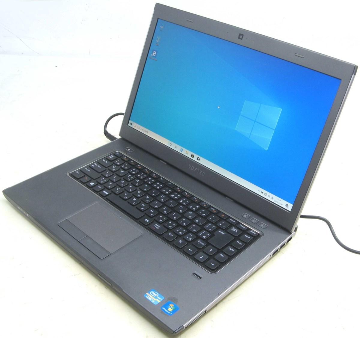 中古ノートパソコン DELL Vostro 3560-2600HD デル Windows10 Corei5 メモリ4GB HDD320GB 15.6インチ HDMI 無線 Bluetooth Webカメラ DVDスーパーマルチ 中古パソコン 中古PC