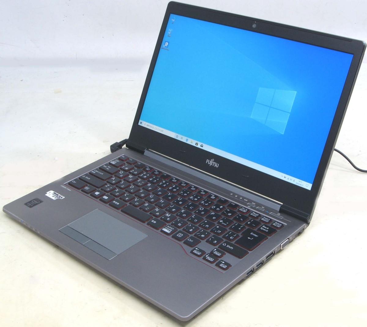 【初期設定済み!すぐ使える】 中古 ノート パソコン 14型 14インチ 液晶 富士通 Lifebook U745/K FMVU2003 Windows10 Corei5 メモリ4GB SSD256GB 中古PC 【中古】