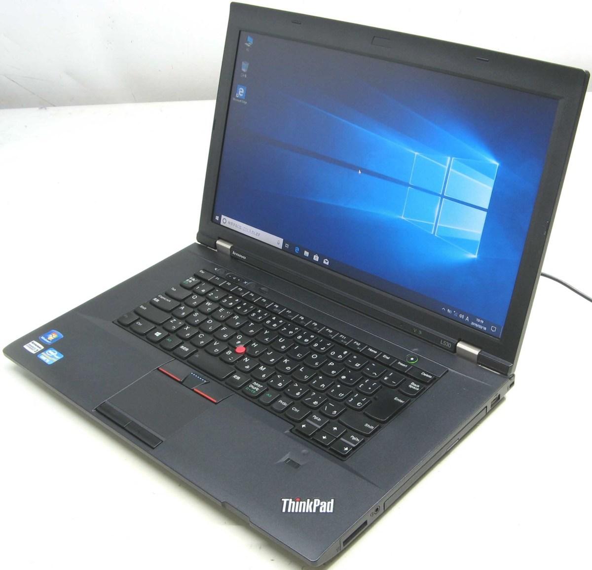 中古ノートパソコン Lenovo ThinkPad L530 2478-3C1 レノボ IBM Windows10 Corei5 メモリ4GB 15.6インチ 無線 Bluetooth DVDスーパーマルチ 中古パソコン 中古PC