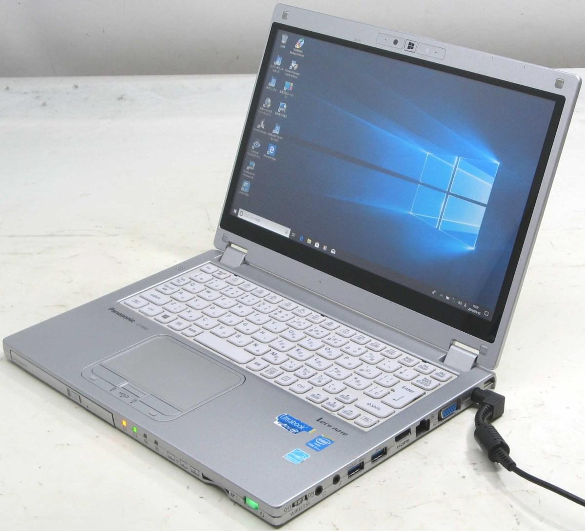 中古ノートパソコン Panasonic CF-MX3GDCCS パナソニック レッツノート Windows10 Corei5 メモリ4GB SSD128GB 12.5インチ HDMI 無線 Bluetooth Webカメラ 中古パソコン 中古PC