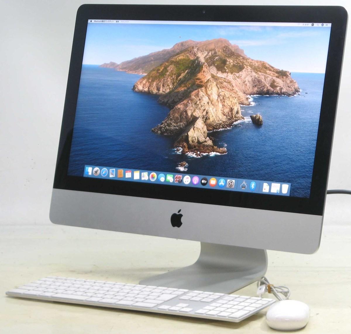 Apple iMac ME086J/A Corei5 2.7GHz 8GB HDD1TB 21.5インチ Mac OS 10.15.3 無線 Bluetooth Webカメラ アップル マック マッキントッシュ 中古パソコン 中古MAC