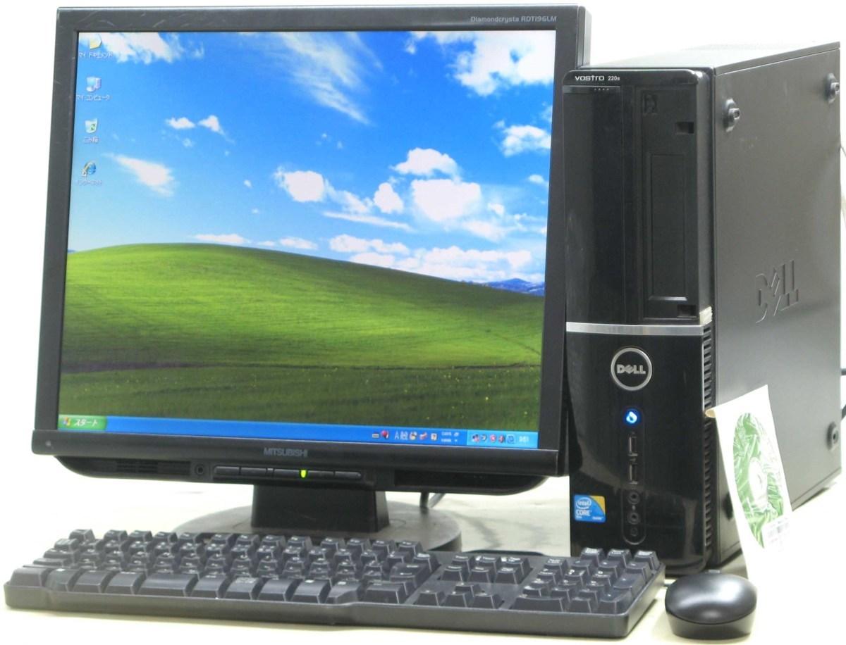 超安い デスクトップパソコン DELL Vostro 220S-E7500SF 19インチ 19型 デスクトップパソコン 液晶モニター WindowsXP セット デル 220S-E7500SF WindowsXP メモリ2GB【】, インディーズ:e2c8dcec --- delipanzapatoca.com