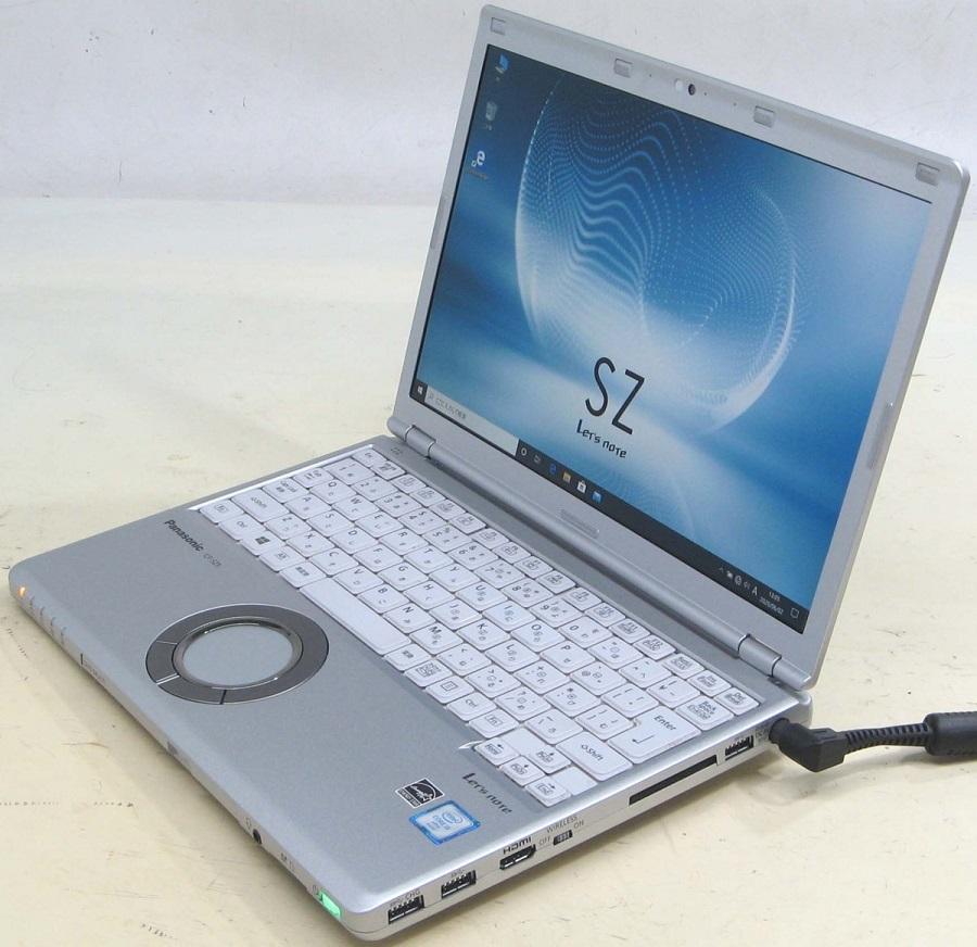 Panasonic 【SSD搭載】 Let'snote CF-SZ5ADLKS Corei5 12.1インチTFT液晶 【HDMI出力端子】 【Webカメラ搭載】 テレワーク 在宅勤務にもおすすめ!【中古パソコン】【中古】